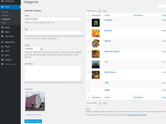 10 Free Category and Tag WordPress Plugins 3