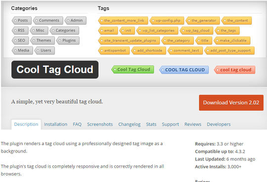 10 Free Category and Tag WordPress Plugins 8