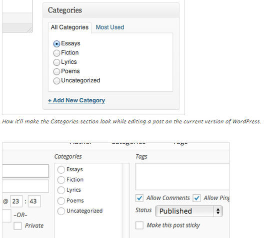 10 Free Category and Tag WordPress Plugins 10