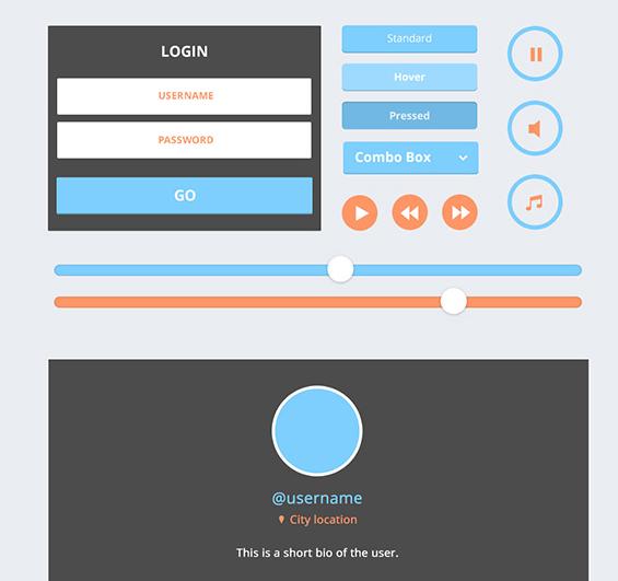 15 Fresh Web User Interface Photoshop Files 7