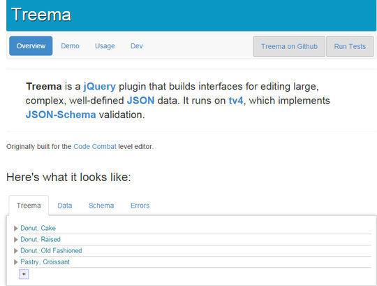 12 Helpful jQuery JSON Plugins 3