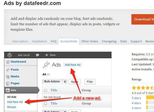 9 WordPress Advertising Plugins 7