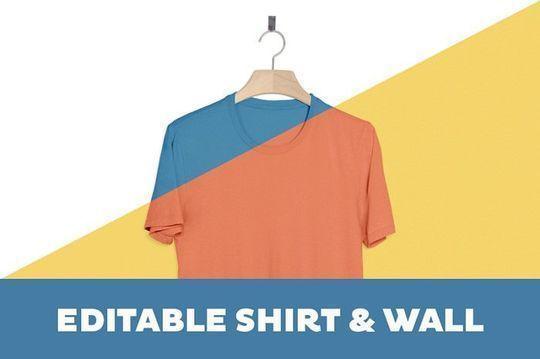 9 Free T-shirt & Clothing PSD MockUps 5