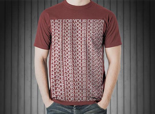 9 Free T-shirt & Clothing PSD MockUps 4