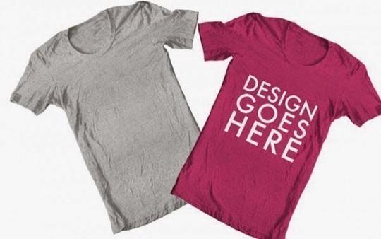 9 Free T-shirt & Clothing PSD MockUps 10