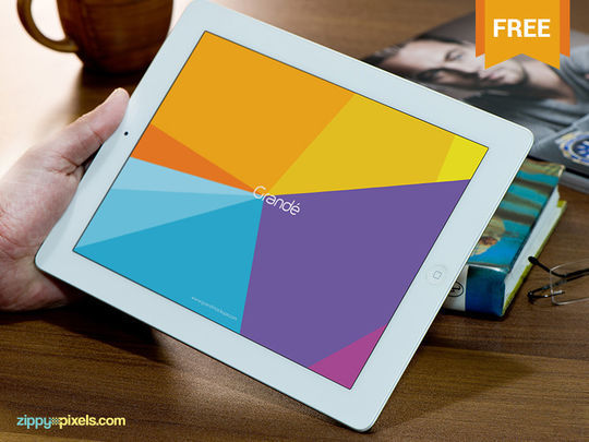 10 High Quality Apple Device Mockup PSDs 2