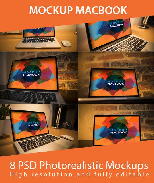 10 High Quality Apple Device Mockup PSDs 5
