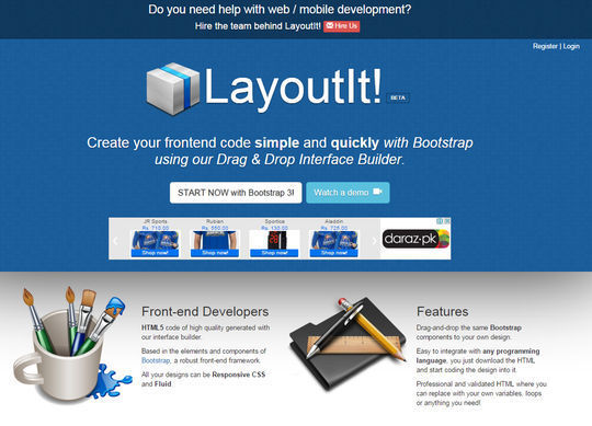 8 Essential Bootstrap Tools For Web Designers 11