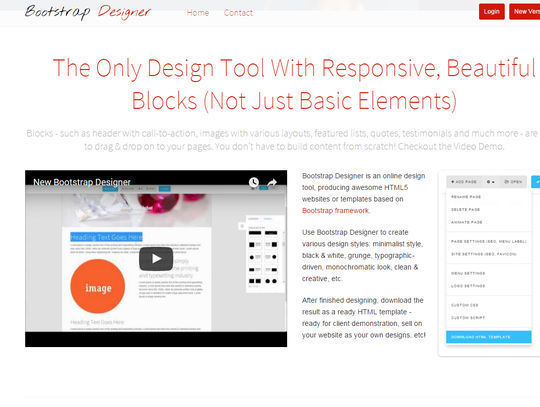 8 Essential Bootstrap Tools For Web Designers 3