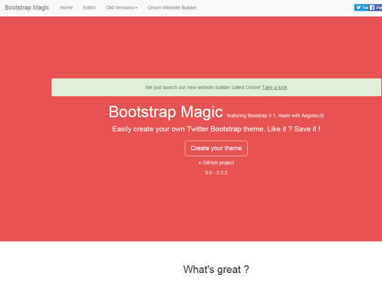 8 Essential Bootstrap Tools For Web Designers 6