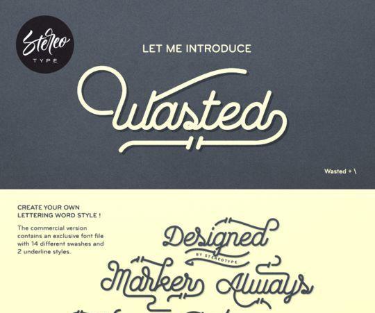 12 Beautiful Cursive & Handwritten Fonts To Download 4