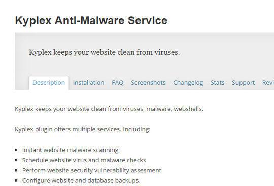 12 WordPress Plugins For Handling Malicious Code 12