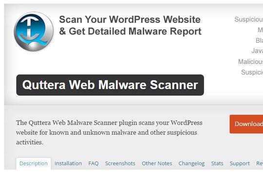 12 WordPress Plugins For Handling Malicious Code 13