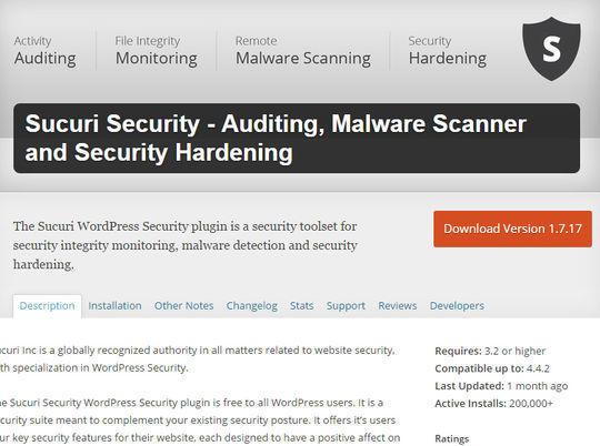 12 WordPress Plugins For Handling Malicious Code 5