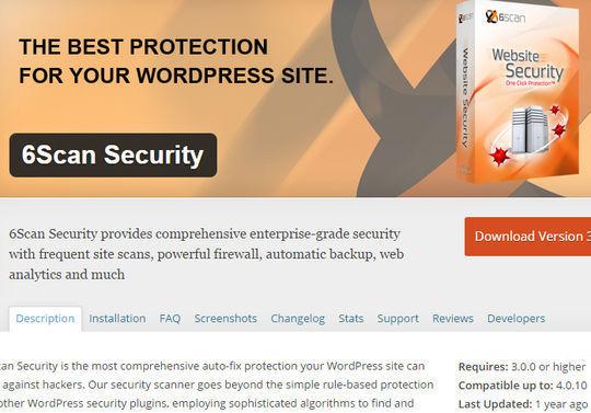 12 WordPress Plugins For Handling Malicious Code 6