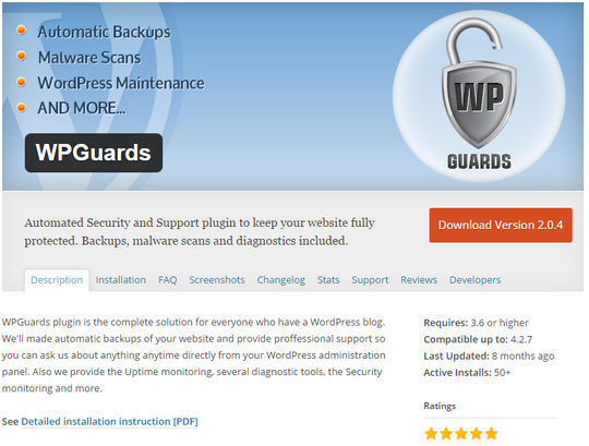 12 WordPress Plugins For Handling Malicious Code 218