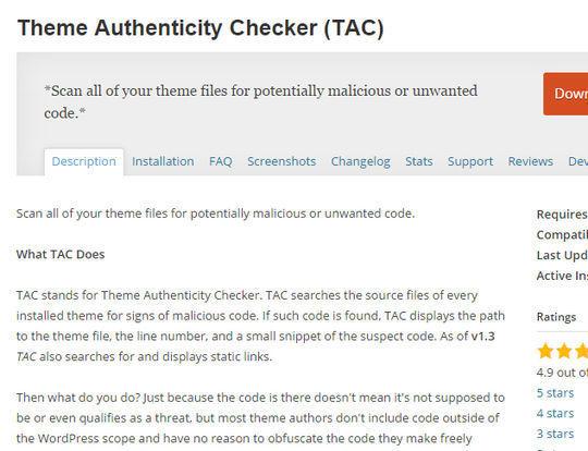 12 WordPress Plugins For Handling Malicious Code 9