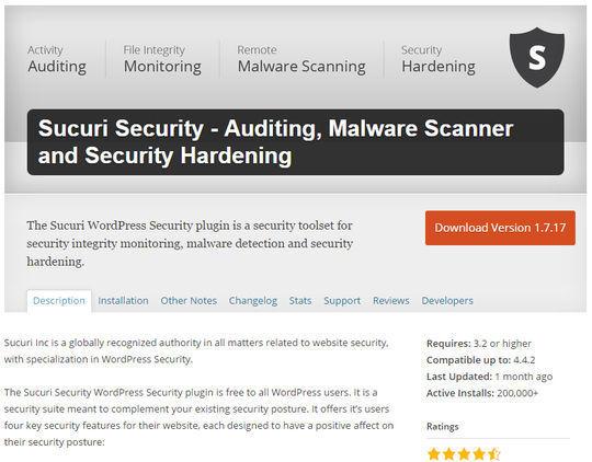 12 WordPress Plugins For Handling Malicious Code 10