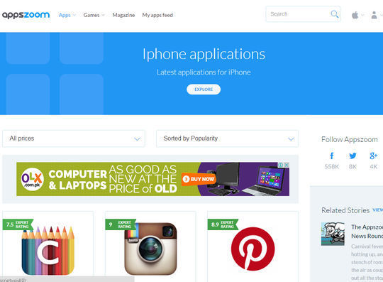 10 Useful Mobile Search Engines To Download Free Apps 3