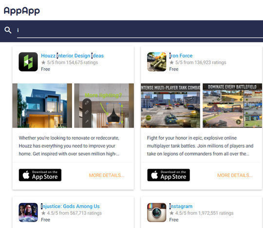 10 Useful Mobile Search Engines To Download Free Apps 5