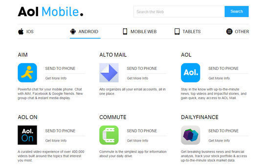 10 Useful Mobile Search Engines To Download Free Apps 10