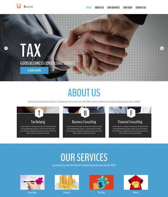 12 Business Website Templates For Your Next Projects 2