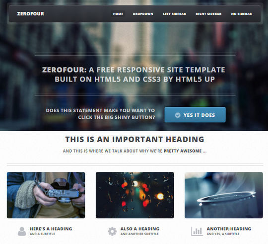 12 Business Website Templates For Your Next Projects 1