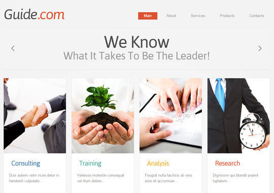 12 Business Website Templates For Your Next Projects 4