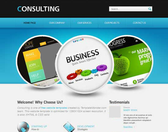 12 Business Website Templates For Your Next Projects 6
