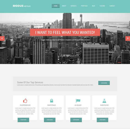 12 Business Website Templates For Your Next Projects 7