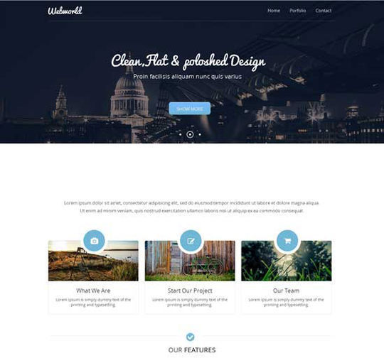 12 Business Website Templates For Your Next Projects 8