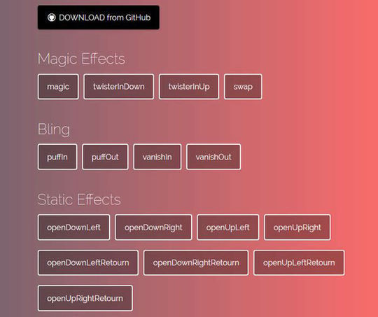 10 CSS3 Animation Scripts For Your Next Projects 2