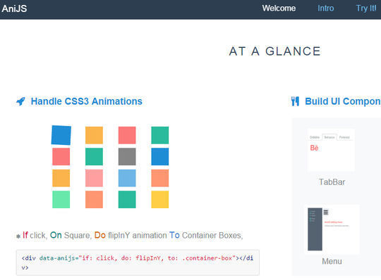 10 CSS3 Animation Scripts For Your Next Projects 6