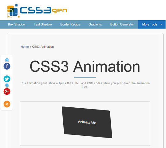 10 CSS3 Animation Scripts For Your Next Projects 10