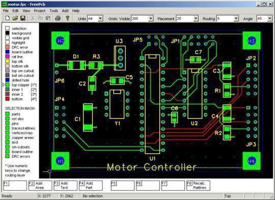 10 Free PCB Design Software 11