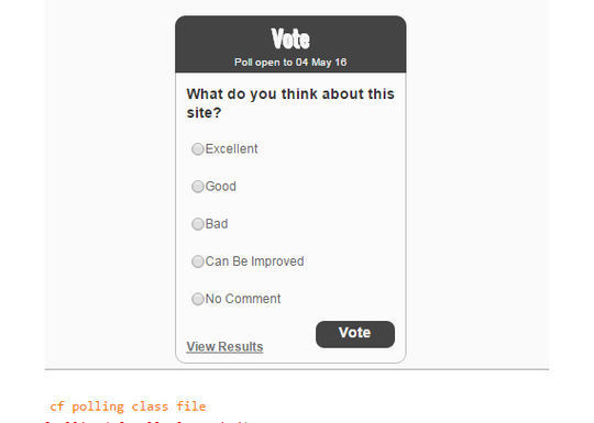9 Free PHP Scripts For Creating Polls 5