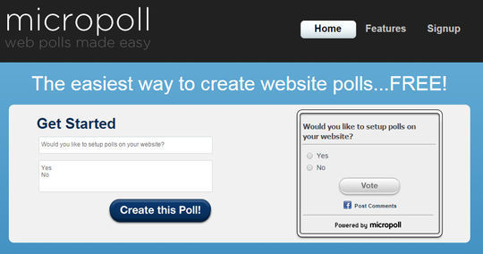 9 Free PHP Scripts For Creating Polls 10