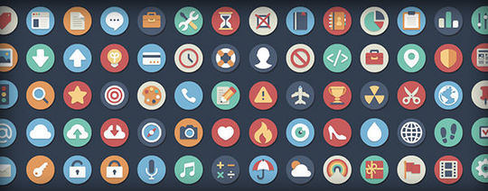 10 Free Creative Sets Of Flat Design Icons 5