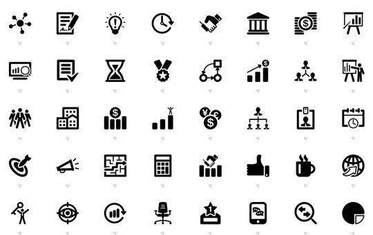 10 Free Creative Sets Of Flat Design Icons 9