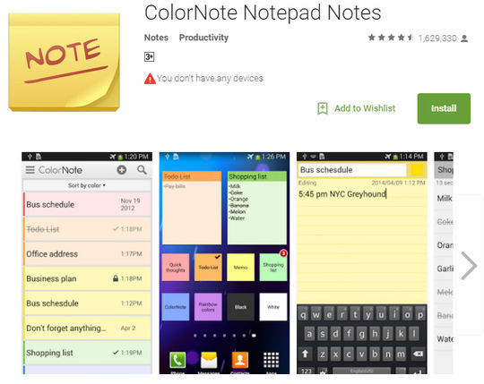 10 Free Note-Taking Apps For Smartphones 5