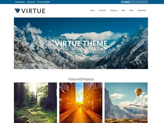 14 Free Responsive WordPress Themes 14
