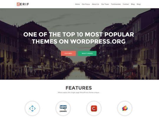 14 Free Responsive WordPress Themes 6