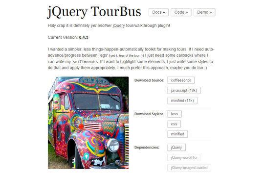 9 Best jQuery Site Tour Plugins 6