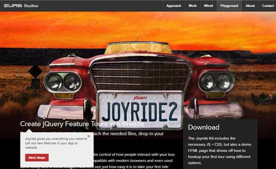 9 Best jQuery Site Tour Plugins 8