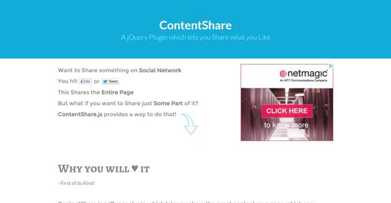 7 Free jQuery Social Sharing Plugins 2