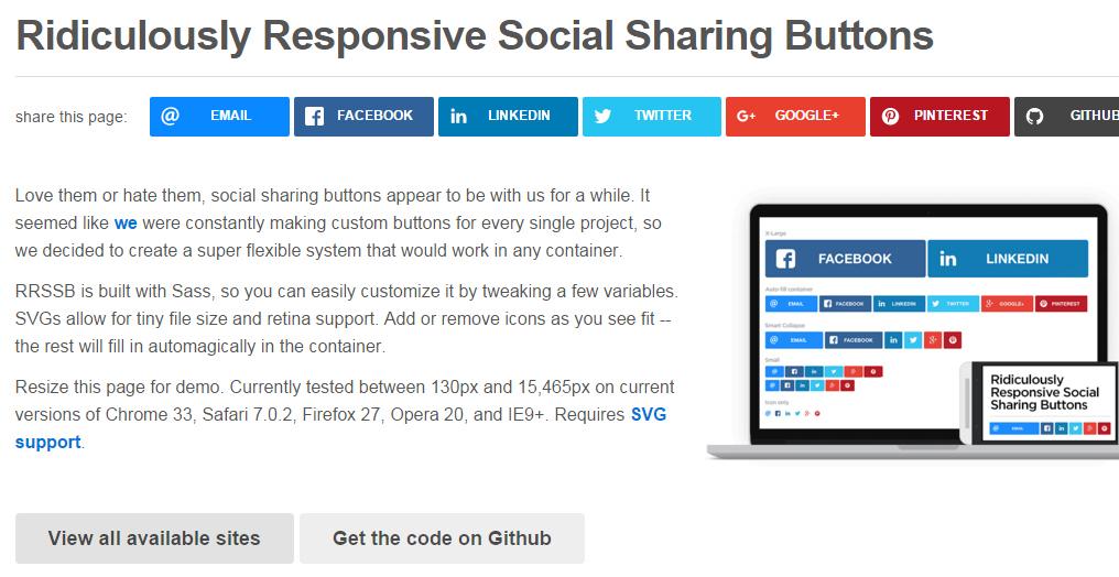 7 Free jQuery Social Sharing Plugins 7