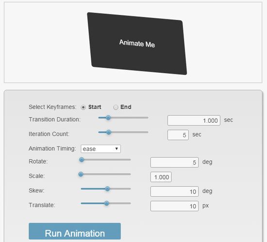 9 Creative CSS3 Animation Tools You Should Bookmark 10