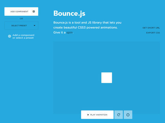 9 Creative CSS3 Animation Tools You Should Bookmark 3