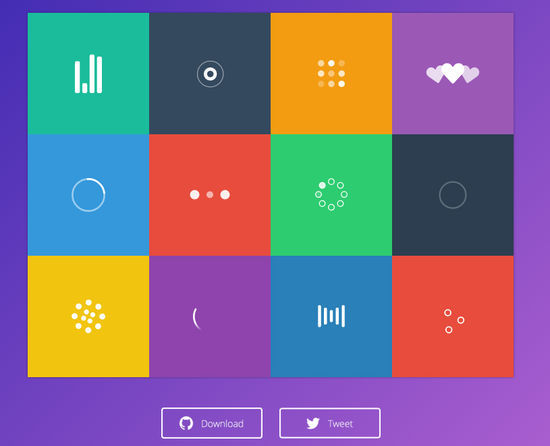 8 Free CSS-SVG Loaders and Spinners 3