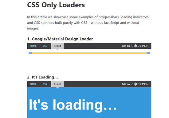 8 Free CSS-SVG Loaders and Spinners 6